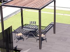 屋上緑化のシャワー効果